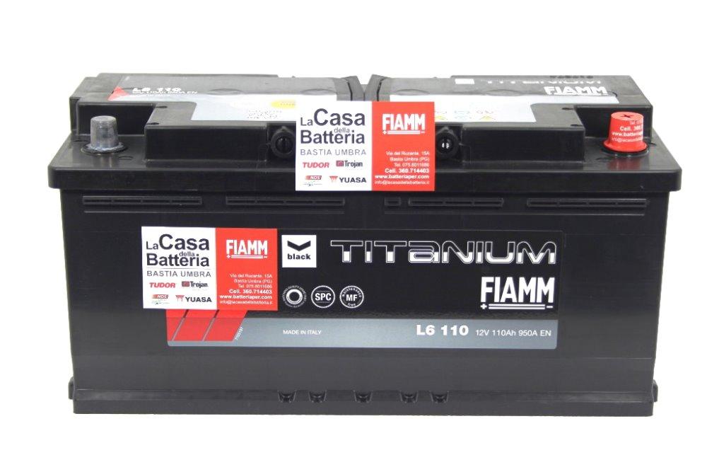 Batteria per camper fiat 3000cc avviamento fiamm 110ah 950a la casa della batteria camper - Batteria per casa ...