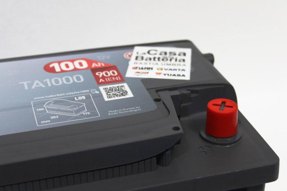 Batteria per camper fiat 2300cc avviamento tudor ta1000 for Costo della casa di 900 piedi quadrati